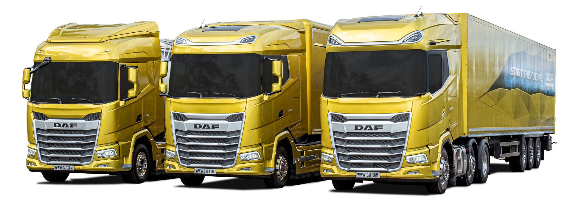 Nuova generazione di veicoli DAF